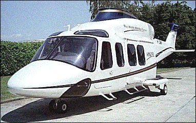 Mock-up of Bell/Agusta AB139