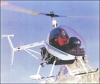 HeliSport CH-7 Kompress two-seat light helicopter