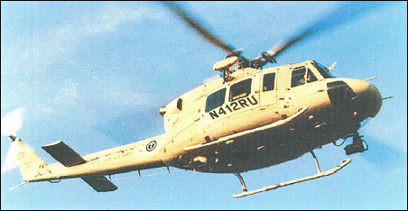Royal Saudi Air Force Bell 412SA