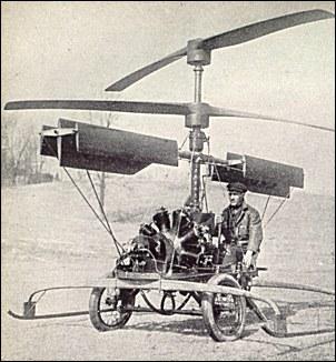 Berliner helicopter - 1919