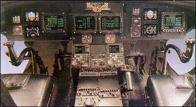 Приборная доска вертолета CH-47D