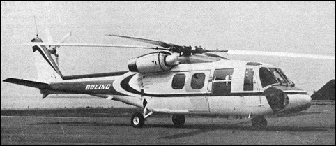 Boeing-Vertol 179, a commercial derivative of the YUH-61A
