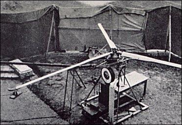 A Doblhoff test setup for a jet-propelled rotor