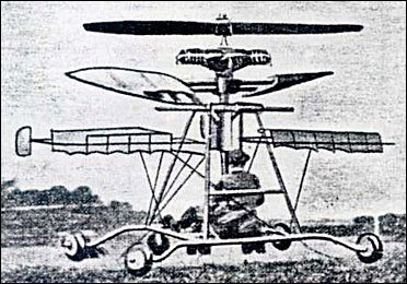 Douheret helicopter