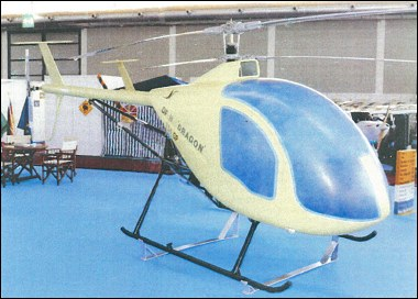 Prototype Dragon Fly 334GP, prior to its first flight