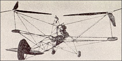 Focke-Wulf scale-model helicopter