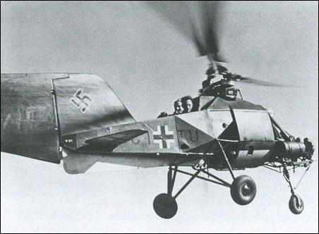 Flettner helicopter