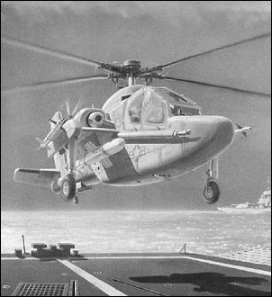Sea Apache, the final proposal