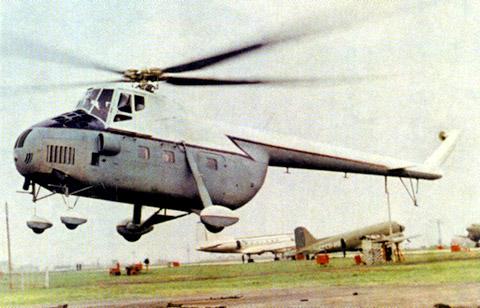 Вертолет-салон на базе Ми-4П