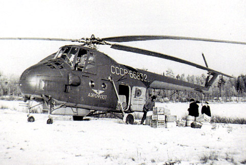 Mil Mi-4 helicopter - development history, photos, technical data