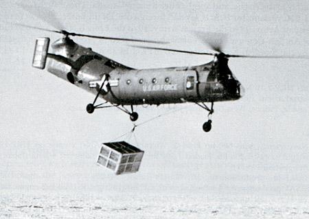 Piasecki H-21 Workhorse / Shawnee helicopter - development history, photos, technical data