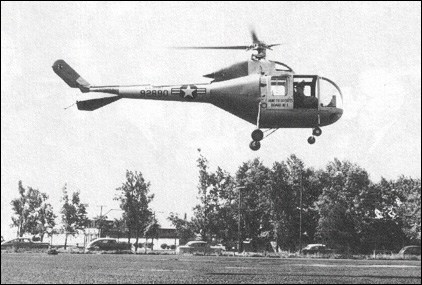 Sikorsky S-52-5 (YH-18B) with a gas turbine