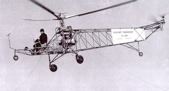 Vought-Sikorsky VS-300 helicopter - development history, photos ...