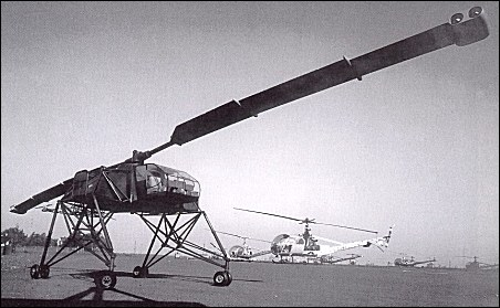 Hiller flying crane mock-up
