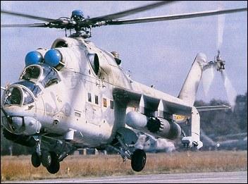 Ми-24Р химической разведки