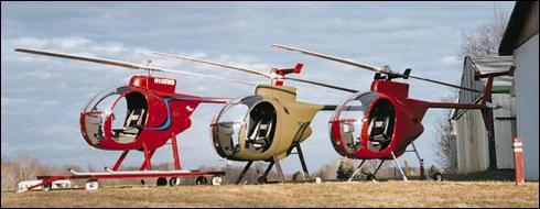 Revolution Mini 500 Helicopter Kits
