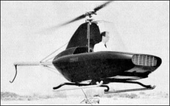 Rotorway Javelin helicopter - development history, photos