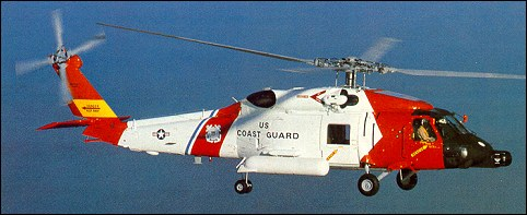HH-60J Jay Hawk search and rescue helicopter