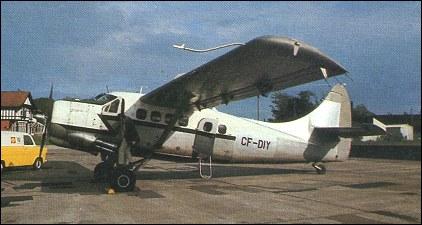 De Havilland Canada DHC-3 Otter - utility aircraft