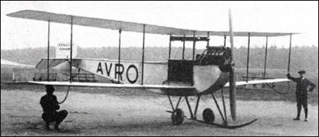 Avro Type E prototype