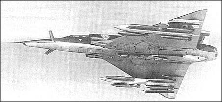 La Famille Mirage III Dassault_milan