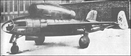 Henschel Hs 132 - dive-bomber Henschel Hs 132