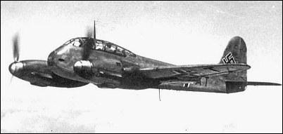 Messerschmitt Me 210 - fighter