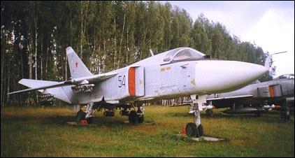 Sukhoi Su-24 - bomber