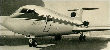yakovlev yak-42 wiki