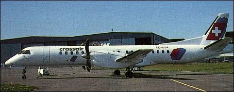 Hokkaido Air System Saab 340b Wt