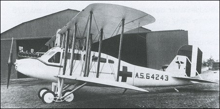 Curtiss Eagle - ambulance