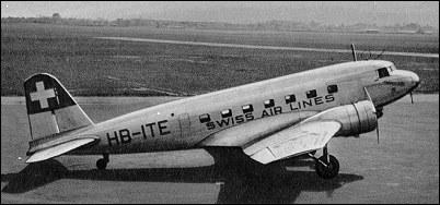 Douglas DC-2 - passenger, tran...