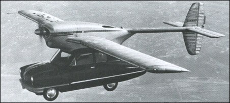 Hall Flying Car / Convair 118