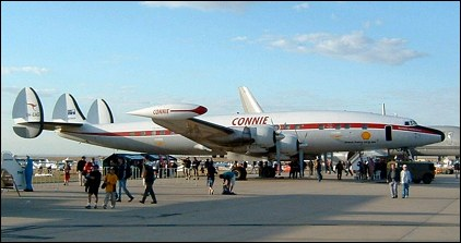 Lockheed L 1049 Super Constellation Ec 121 Passenger