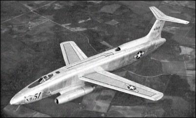 martin xb 51 bomber