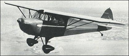 Piper J-4 Cub Coupe