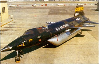 X 15 North American X-15 - research aircraft