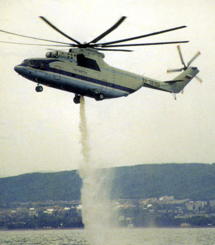 Mil Mi-26 helicopter - development history, photos, technical data